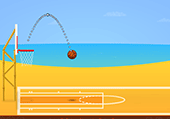 Basket Ball sur la plage en Californie